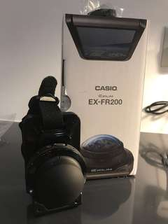 Brand new Casio EX-FR200 action camera