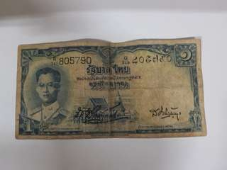 Bangkok Old Note
