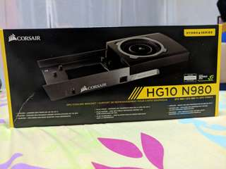 Corsair HG10 N980 GPU cooling bracket