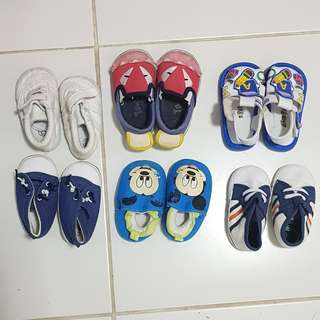 Take all! Preloved baby shoes