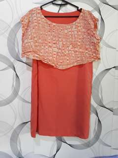 Korean Style Silk Dress