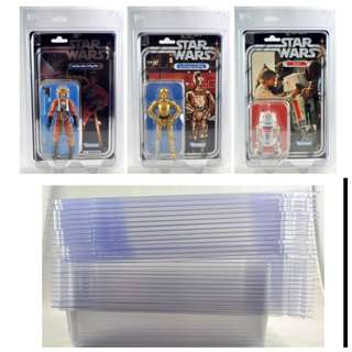 FIGURE SHIELD PROTECTIVE CASES FOR STAR WARS BLACK SERIES 40TH ANNIVERSARY FIGURES