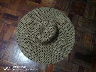 Brown Medium Native Summer Hat