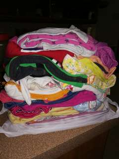 Bundle of baby girl dresses in 150