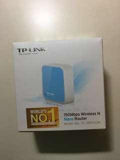 全新原裝TP-LINK Wireless N Nano Router