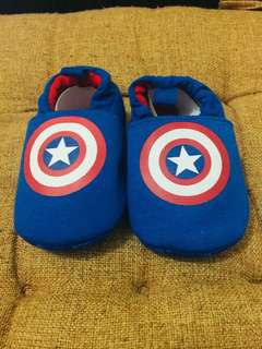 Brand New Captain America Baby Shoes