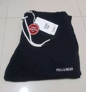 Jogger Pants Pull and Bear with Logo (MOST WANTED)