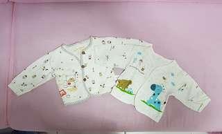 Newborn jacket and pjs set
