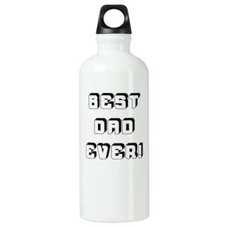 Father's Day Special: Custom Made Personalised Name Aluminium Water Bottle