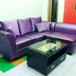 Sofa L Clasic Kredit Murah