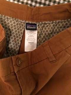 Women's Patagonia organic cotton canvas pants 戶外休閒褲