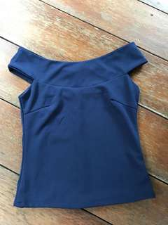 navy top bust up to 88cm