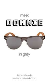 Donnie - Wooden Eyewear