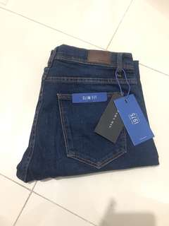 Zara Man Basic Slim Fit Jeans