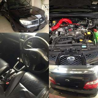 Subaru impreza version 9 1.6 manual  Boxter enjen 2008 RM5,500 READY JB