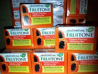 FRUITONE Papaya Premium Whitening Bar