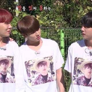 BTS Run - Jungkook printed Long sleeve shirt