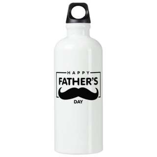 Water Bottle Personalised Name Custom Made Father's Day Gift