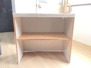 🚚 木板置物櫃