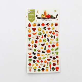 Healthy Food Scrapbook / Planner Stickers #121
