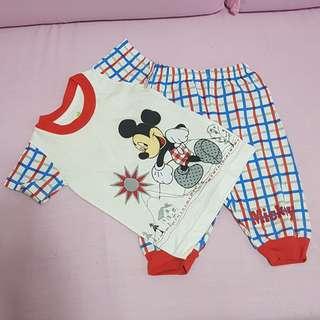 Disney Mickey mouse pajama set
