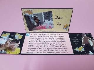 Heart Lock Gift Card  *💯HANDMADE*