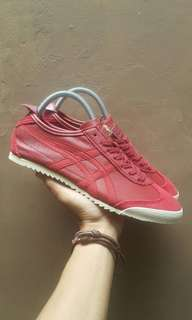 Sepatu Onitsuka tiger Mexico 66 deluxe red