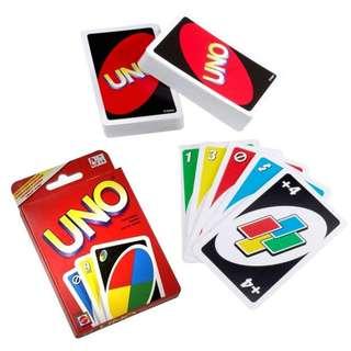 Uno Card Game (thick cards / same quality as original)