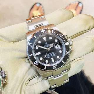 勞力士ROLEX submariner Black 116610LN