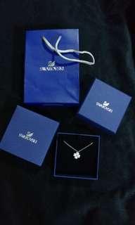 100%new Swarovski Necklace