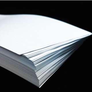 Long Bond Paper 80GSM