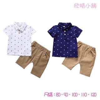 🚚 ❤️男童短袖T+短褲