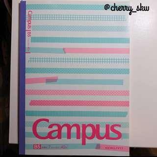 B5Campus筆記本2本