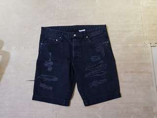 HnM ripped shorts
