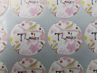 Stickers 'Thanks'