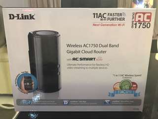 D-Link Wireless AC1750 Dual Band Cloud Router