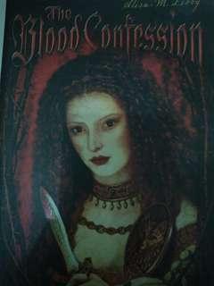 Novel Thriller Blood Confession
