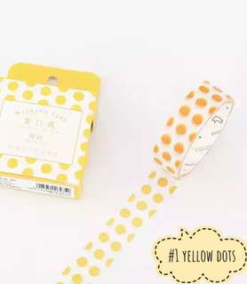cute washi tapes [ preorder ]