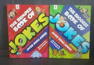 The Biggest Book of JOKES Over 2000 2bks for $12