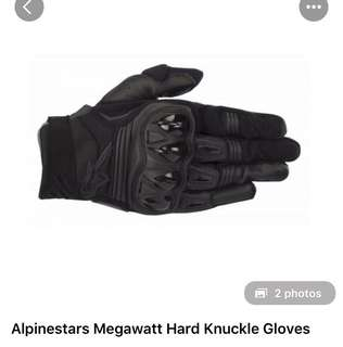 Alpinestars Megawatt Hard Knuckle Gloves