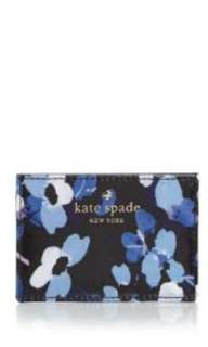 NEW Kate Spade Cedar Street Floral Card Holder