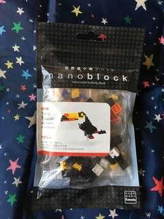 Nanoblock 大嘴鳥