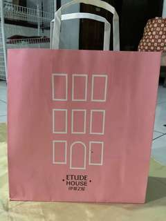 Etude house paperbag