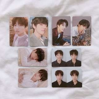 [WTB] BTS JUNGKOOK/JK & TAEHYUNG/V LOVE YOURSELF: TEAR PHOTOCARDS