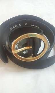 New! Zara belt Genuine Leather