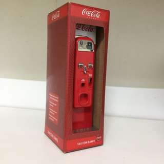 Coca-Cola V44 Coin Bank
