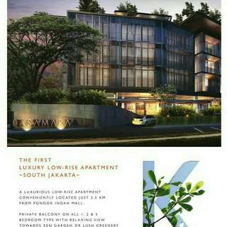 Luxuries Resort Apartment@South Jakarta, Limited stock!