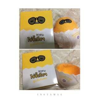 Collectibles item ( 7 eleven ) : Gutetama Bowls (by Sanrio)