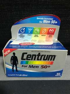 Centrum Men 50+ 60tablets