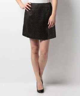 🚚 日本專櫃正品Mercuryduo 水玉點點半身裙A字裙 短裙